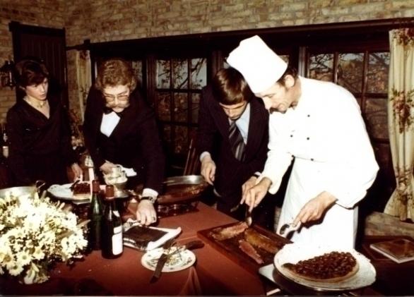 Nouvelle Cuisine en vakmanschap van Chef Adriaan de Jong