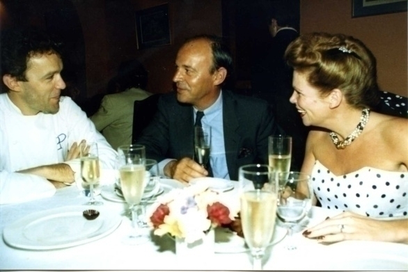vlnr Alain Passard Restaruant l'Arpège ***, Jean-Baptiste Champagne Lechère en Ine Droogh-Goossens