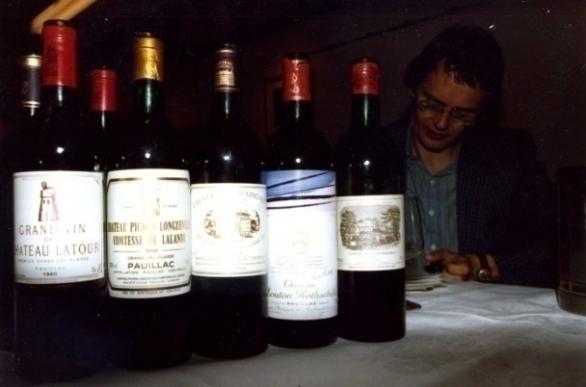 Château Latour | Château Pichon Longueville Comtesse de Lalande | Château Margaux | Château Mouton-Rothschild | Château Lafite-Rothschild en wijnschrijver Hubrecht Duijker