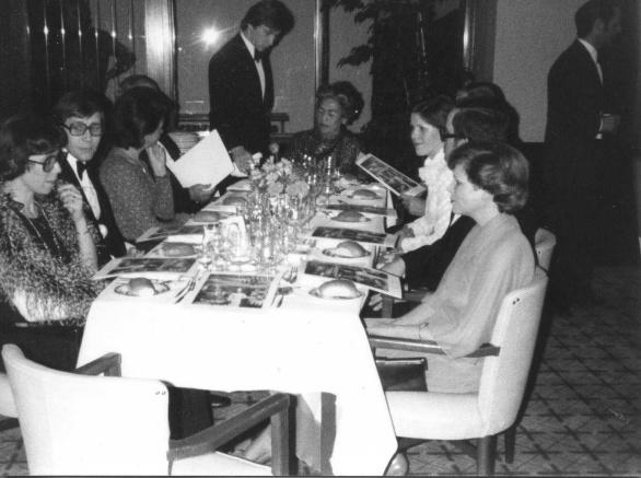 Ine Droogh-Goossens aan Diner met Paul Bocuse in Bournemouth