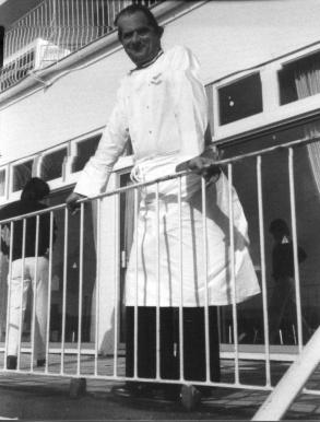 Paul Bocuse Carlton Hotel Bournemouth in 1976
