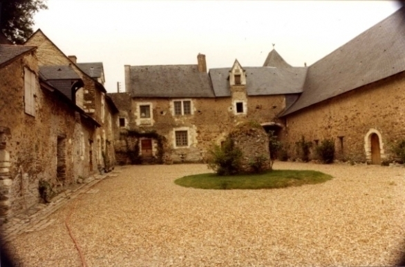 De Binnenhof van Coulée de Serrant
