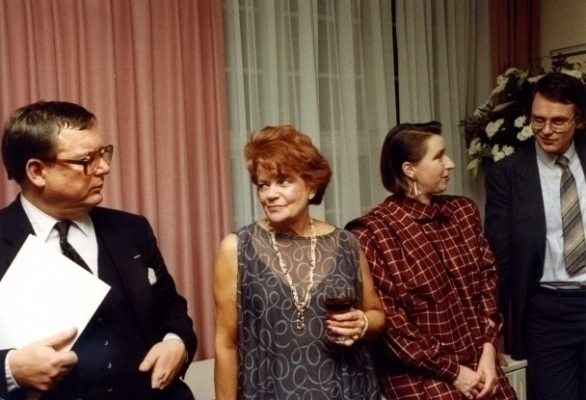 Thomas Lepeltak, Olly van Dijk, Mariëlle Ruskauff en Hubrecht Duijker