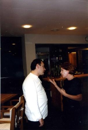 Ine Goossens met Ferran Adrià