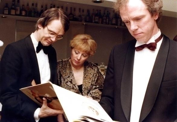 Hubrecht en Julie Duijker en Gert Crum