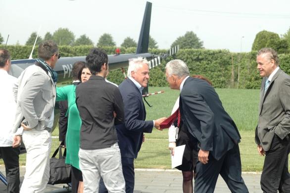 Willem Kool | Stan Huygens Journaal begroet Cees Helder voorzitter Les Patrons Cuisiniers