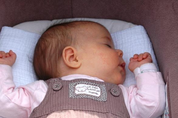 En dit is Emma het dochtertje van Emilie en Cédric Pure Bliss!