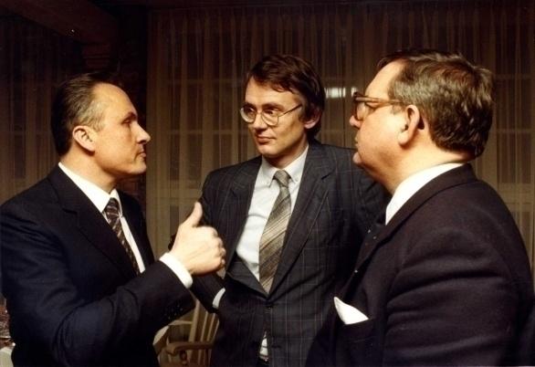 Angelo Gaja, Hubrecht Duijker en Thomas Lepeltak