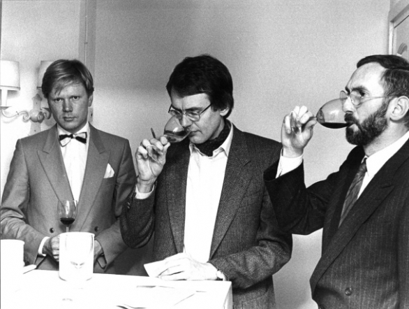 vlnr Ruud Feekes, Hubrecht Duijker en René Verkerk