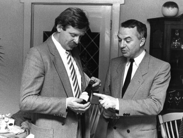 Pieter Booy en Robert Leenaers