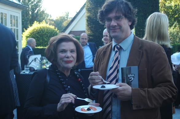 Tja de enige echte Filet Balik Zar Nikolaj haalde Ine (Droogh) Goossens als eerste in 1987 al naar Nederland