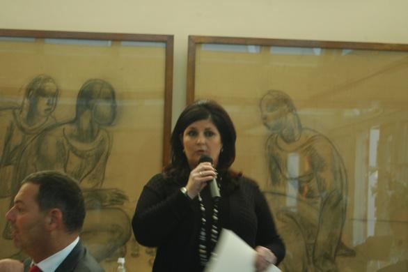 Claudia Brevet had het over een Zebra! Zou dat Ricoh-topman Carol Dona kunnen zijn?