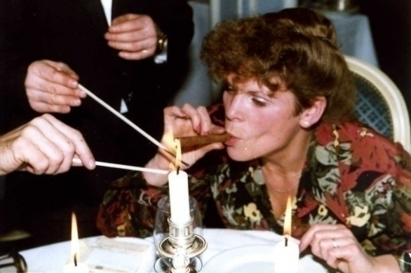 Ine Droogh-Goossens: sigaren-ceremonie