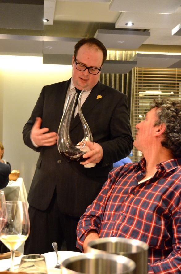 Philippe Jambon in restaurant Bon Bon** Brussel