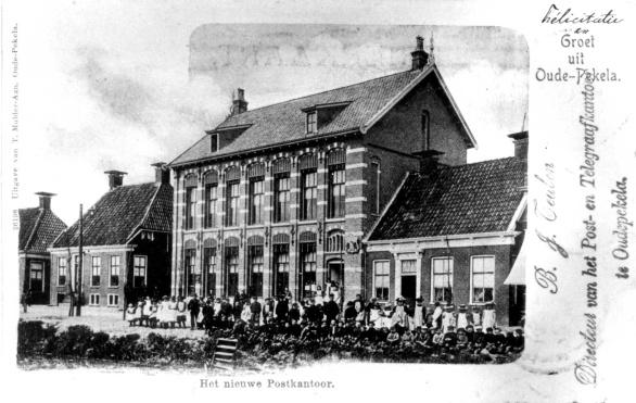 Te Koop: Karakteristiek voormalig postkantoor met directeurswoning