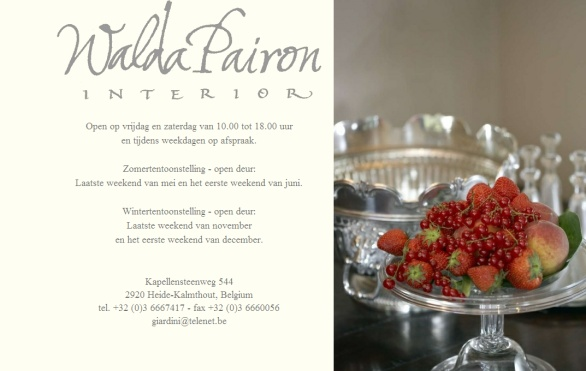 Walda Pairon   Interiors with a soul