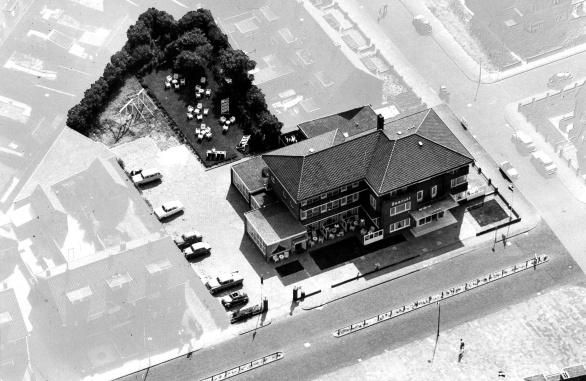 Hotel Zeerust eind jaren vijftig